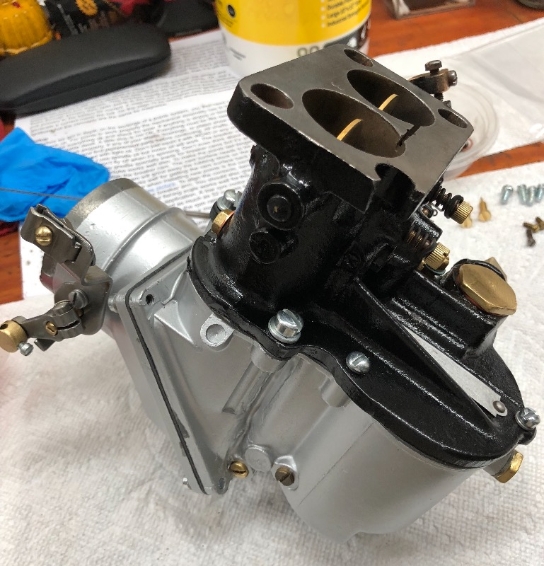 ACD Club - Stromberg UUR 2 Carburetors - Auburn-Cord-Duesenberg Club